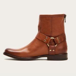 Frye Phillip Harness Short Boots